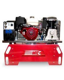 Moto-Compressor com generador e módulo de soldadura THUNDER 130/5EM + MOTO