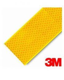 Fita Refletora V-23 Amarela 3M Rígida