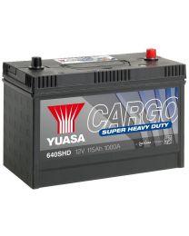 Bateria Yuasa 640SHD 12V 115Ah 1000A +D 329x171x240
