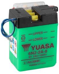Bateria Yuasa 6N2-2A-8 2Ah 47x70x96