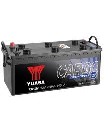 Bateria Yuasa 732GM 12V 220Ah 1400A +E 513x272x242