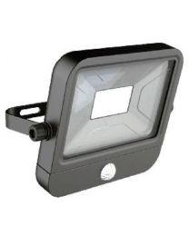 Projetor LED Exterior com sensor de movimento 20W 1400 Lumens