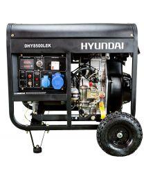 Gerador Diesel Monofásico Hyundai DHY8500LEK