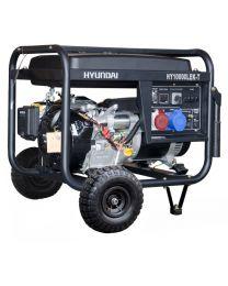 Gerador Gasolina 8,8 kVA Hyundai HY10000LEKT