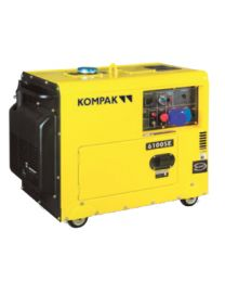 Gerador Diesel Monofásico Kompak K6100SE