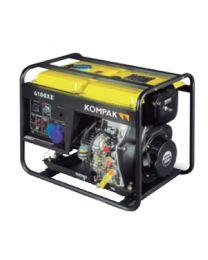 Gerador Diesel Monofásico Kompak K6100XE