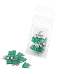 Kit Fusiveis 30A (10 un) - Pack 2