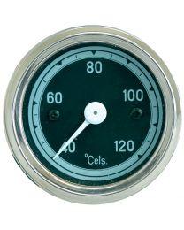 Manómetro de temperatura, Temperatura de funcionamento: 0 to 120°C,