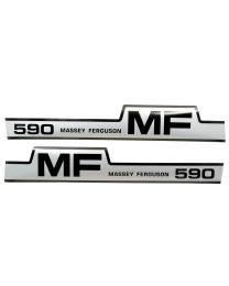 Kit Autocolantes - Massey Ferguson 590