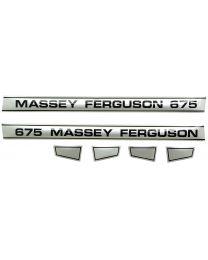 Kit Autocolantes - Massey Ferguson 675