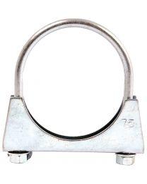 Abraçadeira de escape Ø: 75mm, (1pc. Agripak)