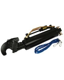 3ºs Pontos Hidraulicos (Cat. -/3) Articulação e Gancho, Diametro interno Cilindro : 90mm, Comprimento minimo : 640mm.