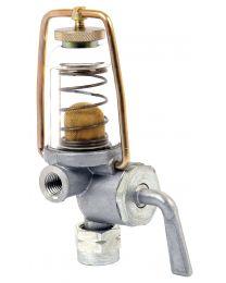 Torneira combustivel com filtro