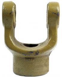 Forquilha sem estrias (Dimensão da cruzeta: 30.2 x 92mm) Diametro Ø30mm, Cavilha Ø: 10mm.
