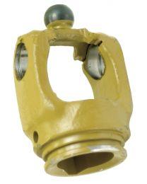 Forquilhas Homocinética para o tubo (Dimensão da cruzeta: 32 x 76 & 27 x 94mm) Perfil de tubo: Limão, Tamanho do tubo: 48 x 4mm, Ref. de tubo: 2aG.