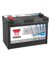 Bateria Yuasa M31-100 12V 100Ah 600A +E 330x173x240
