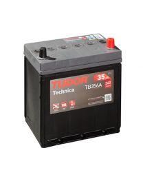 Bateria Tudor TECHNICA TB356A 12V 35Ah 240A +D 187x140x220