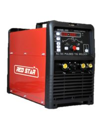 REDSTAR TIG 200 AC/DC PULSE - Gás