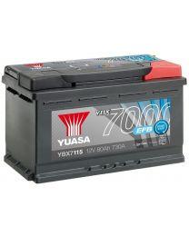 Bateria Yuasa YBX7115 12V 80Ah 730A +D 317x175x190