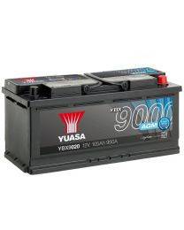 Bateria Yuasa YBX9020 12V 105Ah 950A +D 393x175x190