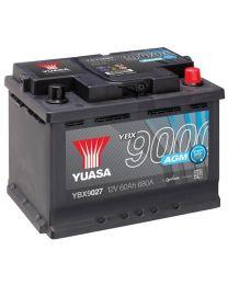 Bateria Yuasa YBX9027 12V 60Ah 680A +D 242x175x190