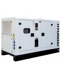 Gerador Industrial Trifásico 40 kVA Hyundai DHY 45 KSE