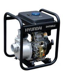 Motobomba Diesel 3'' Hyundai DHY80LE