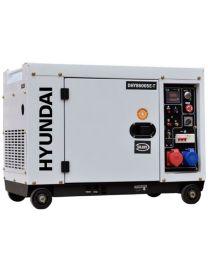Gerador Diesel Silencioso 7,5 kVA Hyundai DHY8600SET