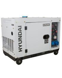 Gerador Diesel Silencioso 6.3Kw Hyundai HY-DHY8600SE
