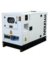 Gerador Monofásico Insonorizado Hyundai DHY11KSEm