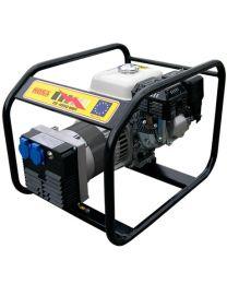 Gerador gasolina monofásico MOSA GE-4000 MBH motor Honda GX 200