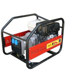 Gerador gasolina monofásico MOSA GE-5000 MBH motor Honda GX 270