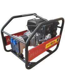 Gerador gasolina monofásico MOSA GE-5000 MBK RENTAL motor KOHLER CH395