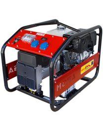Gerador gasolina monofásico MOSA GE-7500 MBH RENTAL motor Honda GX 390