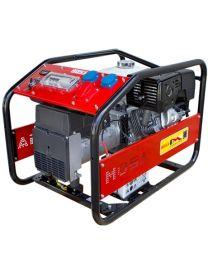 Gerador gasolina trifásico MOSA GE-9000 TBH RENTAL motor Honda GX 390