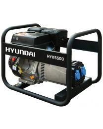 Gerador Gasolina Monofásico Hyundai HYK5500