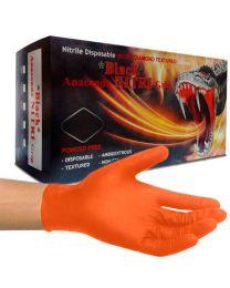 Luvas Nitrilo Texturadas Anaconda Orange Grip Tamanho L