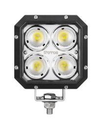 Farol LED Quadrado de 4300 Lúmens com Ângulo do feixe de 40° Espalhador e de Alta Potência