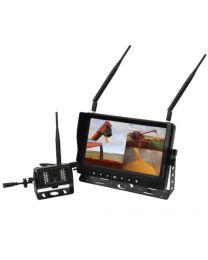 Sistema de câmara wireless 1 monitor 7'' e 1 câmara