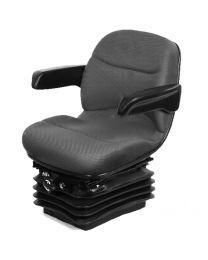 Assento de suspensão mecânica compacto