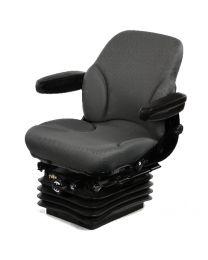 Assento de suspensão mecânica médio