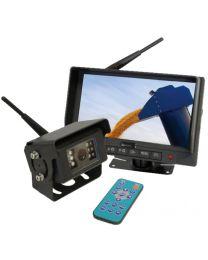 """Sistema de Camara digital wireless com monitor LCD de 7"""" e 1 camara"""
