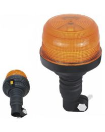 Pirilampo Rotativo LED Flexivel R65 (24 LEDs x 1 W)