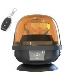 Pirilampo Rotativo LED a Bateria R65 28W com comando