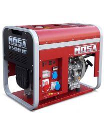 Gerador diesel trifásico MOSA GE-S-6500 YDT motor YANMAR LN 100 AE (Arranque elétrico)