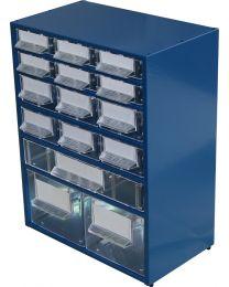 Estante Metálo-Plástica n.º 15 azul