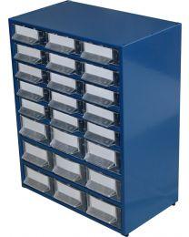 Estante Metálo-Plástica n.º 24 azul