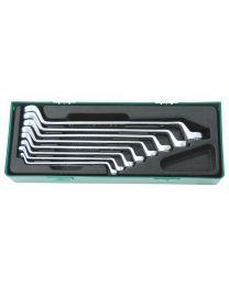 Tabuleiro 8 chaves luneta 6-22mm Jonnesway W23108SP