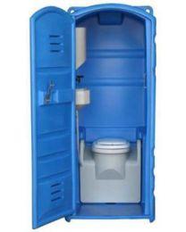 Cabine sanitária autónoma WC (Sanitário plástico com ligação à rede)